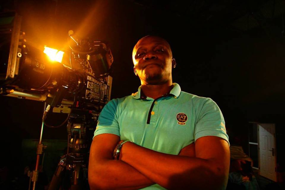 "Director C.J. ""Fiery"" Obasi on Hello, Rain set"