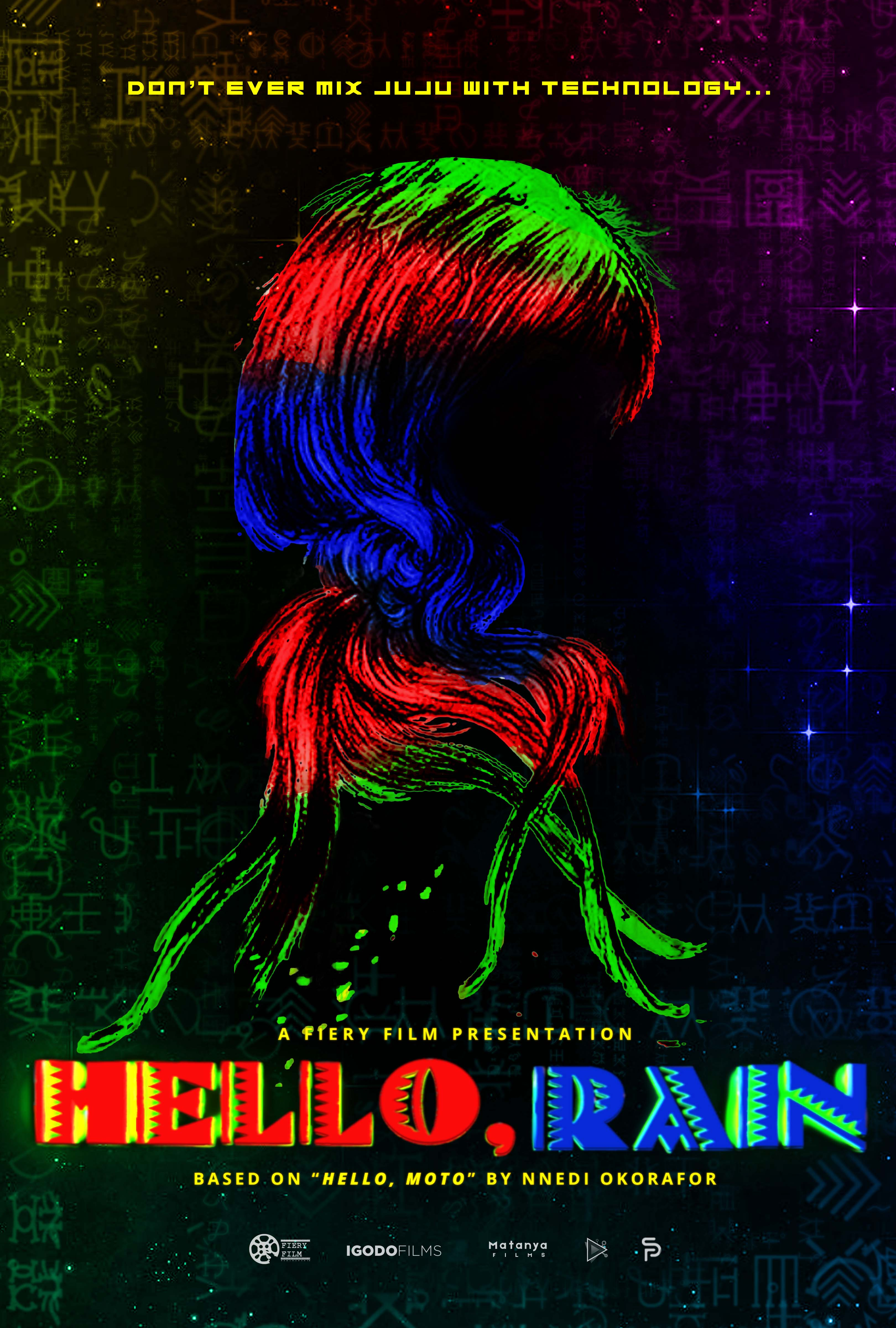 HELLO, RAIN Official Poster